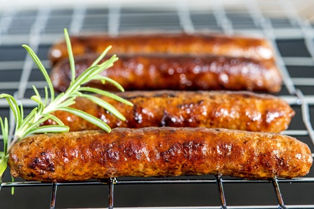 Merguez, North-African sausage, roasted