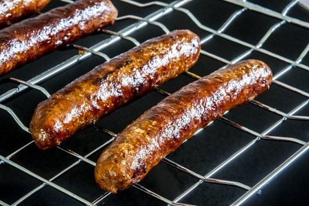 piquancy: Merguez, North-African sausage, roasted