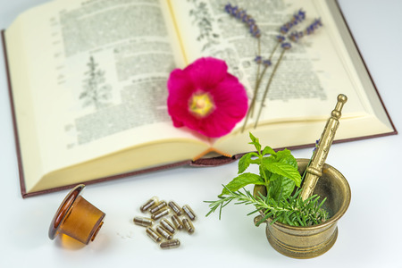 Naturopathy with herbs