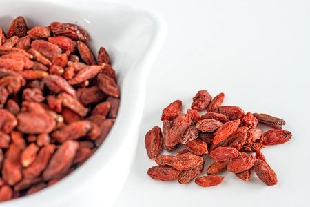 lycium: Goji berries Stock Photo