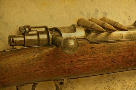 carbine: carbine with ammunition