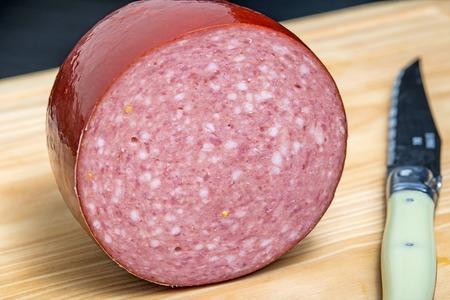 hefty: ham sausage