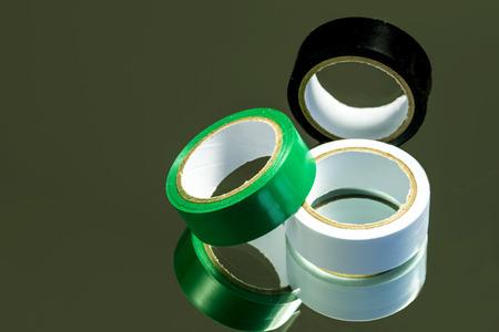 Isolation tape Stock Photo