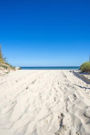 Baltic sea, beach Standard-Bild