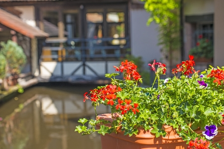 alsace: Wissembourg, Alsace, France Stock Photo
