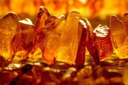 stone: amber bracelet Stock Photo