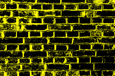 out of order: old brick wall