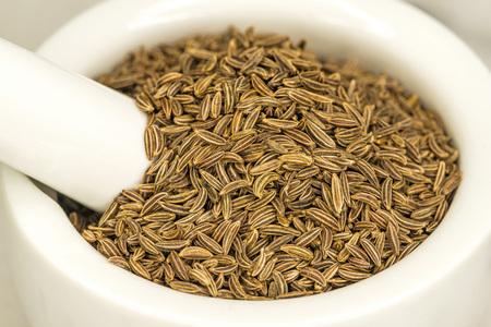 caraway: Caraway, spice and medicine Stock Photo