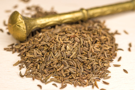 caraway: Caraway, spice and medicine Stock Photo