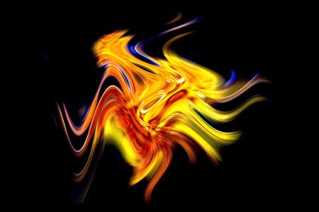 energetically: dancing flames