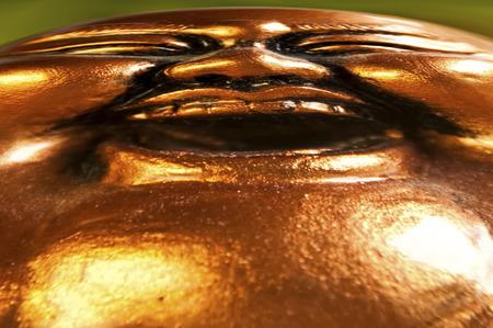 cheerfulness: Buddha smiles