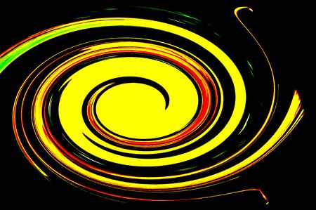 circling: spinning spiral