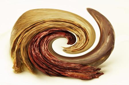 energetically: spinning spiral