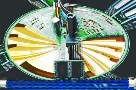 random: computer motherboard random access memory