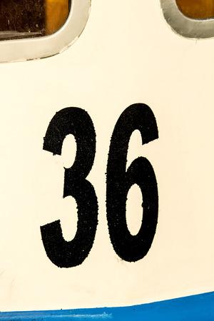 number 36: ship number 36