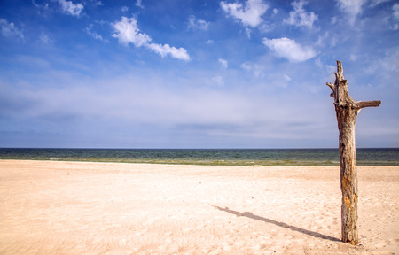 lonesome: lonesome beach of the Baltic Sea