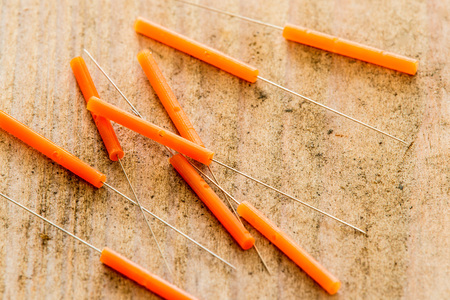 nature cure: Acupuncture needles