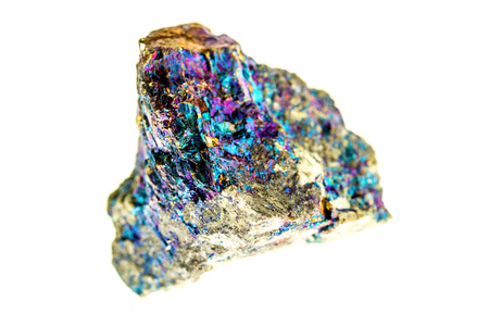 Bornite, also known as peacock ore 写真素材