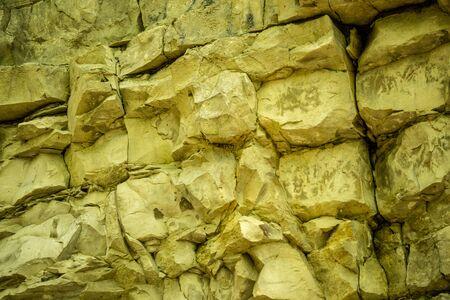 Jura limestone shifts of the Swabian Alb in Germany Stock Photo