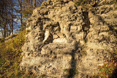 Jura limestone shifts of the Swabian Alb in Germany Reklamní fotografie