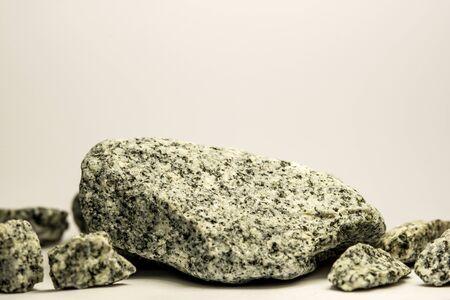 Diorite stones of the Baltic sea