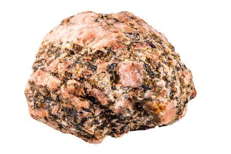 pegmatite in a macro shot