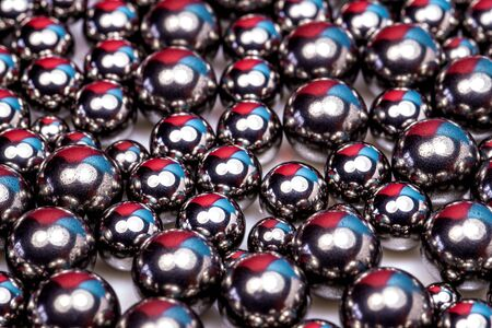 steel balls of a rolling element