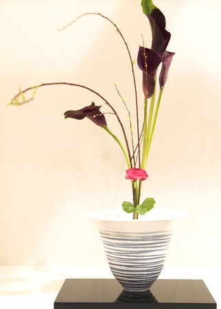 arrangement: japanese art of flower arrangement