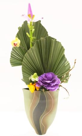 japanese art of flower arrangemen photo