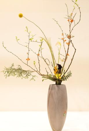 ikebana: japanese art of flower arrangement