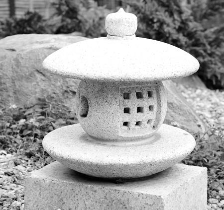 stone lantern photo