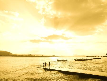 fishing men photo