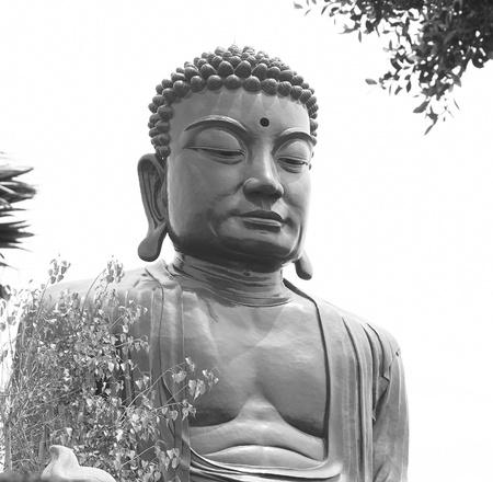 big Buddhist statue  Stock Photo - 9392567