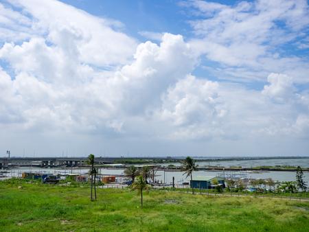 Wetlands in taiwan Imagens