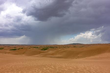 Dune in inner mongolia Standard-Bild