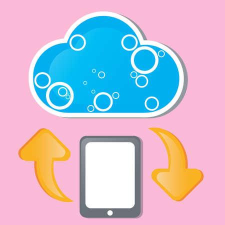 Cloud computing Stock Vector - 16847536