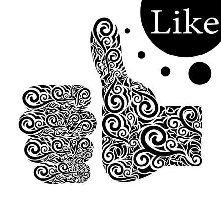Like Stock Vector - 16864241