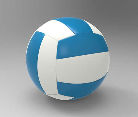 3D Illustration of a Volleyball illustration
