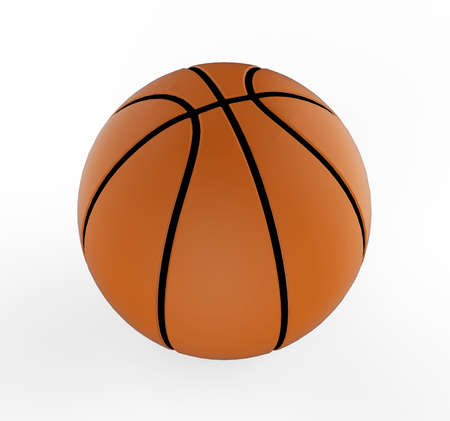 basketball 3D  Stock Photo