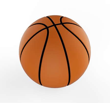 basketball 3D  Stock Photo