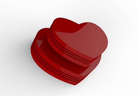 Pair of Hearts Stock Photo