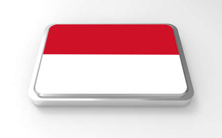 Indonesia flag 3D Stock Photo - 17046200