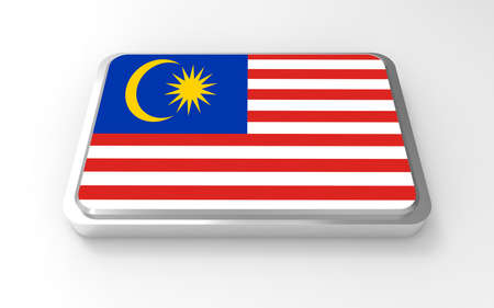 Malaysia  flag 3D Stock Photo - 17046199