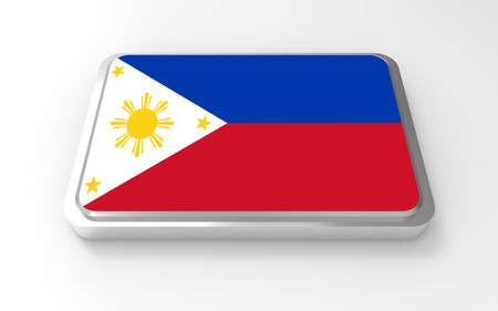 Philippines flag 3D