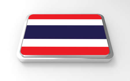 Thailand flag 3D  Stock Photo - 17047379