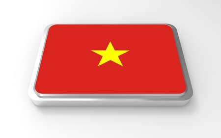 Vietnam flag 3D Stock Photo - 17047376
