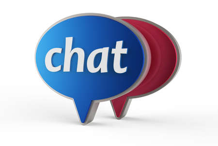 Chat icon Stock Photo - 17078157