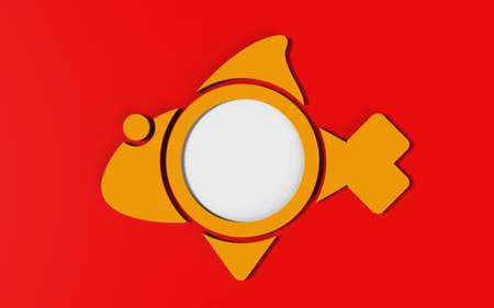 spawn: Fish creative design Stock Photo