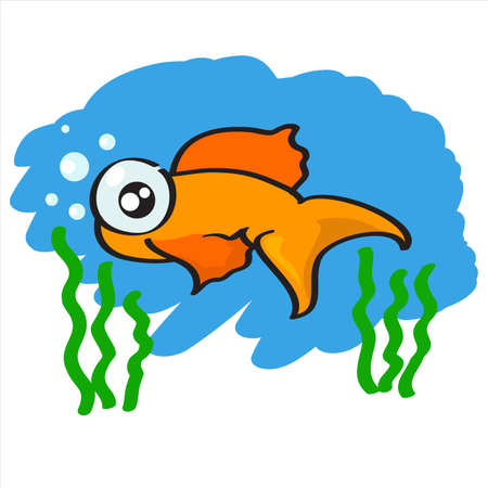 cartoon fish vector Stock Vector - 17078166