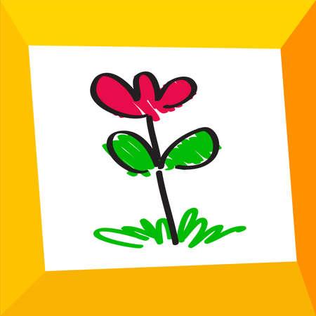 flowers illustration Stock Vector - 17104530